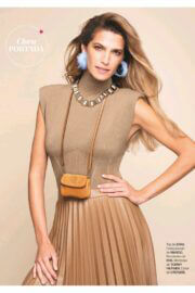 Laura Sanchez on the cover page of Clara Magazine, March 2021 2