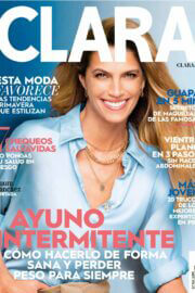 Laura Sanchez on the cover page of Clara Magazine, March 2021 5