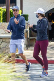 Lauren Zima and Chris Harrison Steps Out for Lunch in Los Angeles 03/24/2021 3