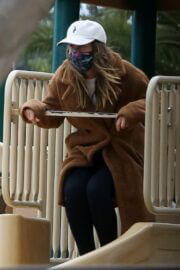 Leighton Meester Seen at a Park in Los Angeles 03/25/2021 4