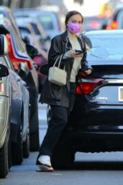 Lily-Rose Depp in Street Style Out and About in New York 03/10/2021 2