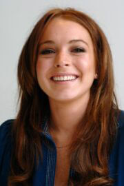 Lindsay Lohan Throwback Pictures of Just My Luck Press Conference 04/28/2006 9