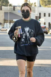 Lucy Hale Out and  for Coffee in Los Angeles 02/24/2021 8