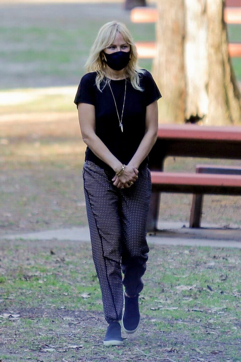 Malin Akerman Day Out at a Park in Los Angeles 02/23/2021 2