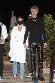 Megan Fox and Machine Gun Kelly Arriving at Nobu in Malibu 03/13/2021 7
