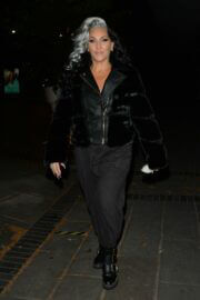 Michelle Visage Leav BBC Studios in London 03/13/2021 4