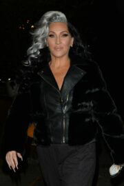 Michelle Visage Leav BBC Studios in London 03/13/2021 5