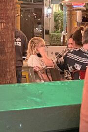 Miley Cyrus Spotted at Village Pub in Palm Springs 03/06/2021 4