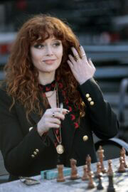 Natasha Lyonne Spotted on the Set of Russian Doll in New York 03/10/2021 2