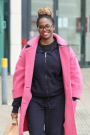 Oti Mabuse Steps Out in Leeds 03/14/2021 7