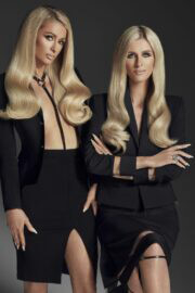 Paris and Nicky Hilton On The Cover Page Of L'Officiel Magazine, Italy Spring 2021 2