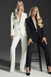 Paris and Nicky Hilton On The Cover Page Of L'Officiel Magazine, Italy Spring 2021 5