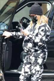 Pregnant Ashley Tisdale Wears a Comfy Outfit While Day Out in Beverly Hills 03/10/2021 7