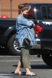 Pregnant Brittany Cartwright Out for Shopping at Target in Hollywood 02/24/2021 2
