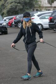 Reese Witherspoon Out Hiking with Dogs in Santa Monica 03/14/2021 2