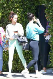 Sara Sampaio and Rumer Willis in Activewear as they Headed to Pilates Class in West Hollywood 03/09/2021 10