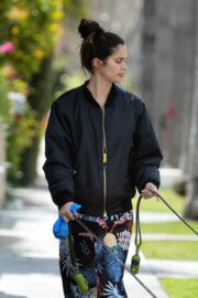 Sara Sampaio Day Out with Her Dog in Los Angeles 03/11/2021 3