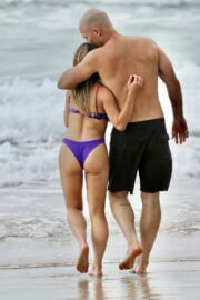 Sonja Marcelline and Mike Gunner Enjoys at a Beach in Gold Coast 02/23/2021 4