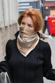 Stacey Dooley is Seen Arriving at BBC Studio in London 03/13/2021 5