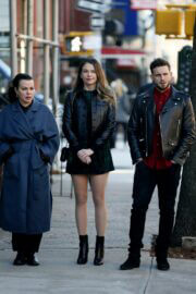 Sutton Foster and Debi Mazar Spotted on the Set of 'Younger' in New York 02/23/2021 2