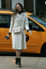 Sutton Foster and Debi Mazar Spotted on the Set of 'Younger' in New York 02/23/2021 4
