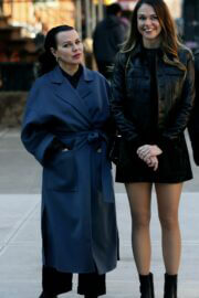 Sutton Foster and Debi Mazar Spotted on the Set of 'Younger' in New York 02/23/2021 6