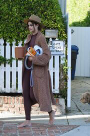 Taylor Hill Steps Out With Her Dog in Los Angeles 03/11/2021 2