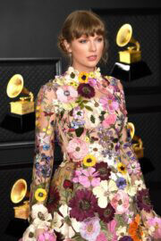 Taylor Swift attends 2021 Grammy Awards in Los Angeles 03/14/2021 9