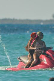 Winnie Harlow on Vacation as She Rides The Waves On A Jet Ski During Tropical Trip To Tulum, Mexico 02/24/2021 5