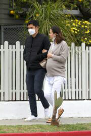Liv Lo and Henry Golding Out in Los Angeles 03/20/2021 2