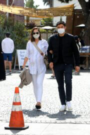 Liv Lo and Henry Golding Out in Los Angeles 03/20/2021 6