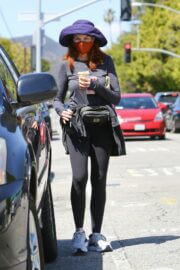 Marcia Cross Spotted at a Starbucks in Brentwood 03/22/2021 6