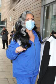 Michelle Visage Spotted at Steph's Pack Lunch Studios in Leeds 03/24/2021 4