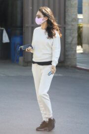 Mila Kunis is Leaving a Skin Care Clinic in West Hollywood 03/19/2021 3