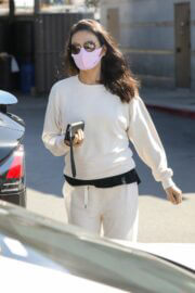 Mila Kunis is Leaving a Skin Care Clinic in West Hollywood 03/19/2021 4