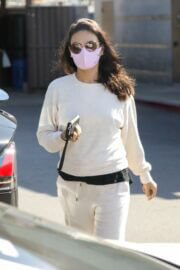 Mila Kunis is Leaving a Skin Care Clinic in West Hollywood 03/19/2021 6