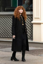 Natasha Lyonne Seen on the Set of Russian Doll in New York 03/25/2021 2