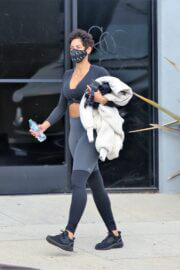 Nicole Murphy is Leaving a Gym in Los Angeles 03/18/2021 3
