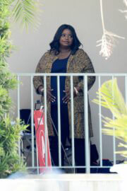Octavia Spencer Seen on the Set of Truth Be Told in Los Angeles 03/18/2021 1