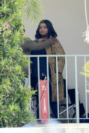 Octavia Spencer Seen on the Set of Truth Be Told in Los Angeles 03/18/2021 7