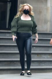 Rebel Wilson is Leaving Her Hotel in London 03/24/2021 1