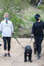 Reese Witherspoon and Ava Phillippe Hiking in Brentwood 03/22/2021 1