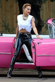 Rita Ora Seen on the Set of a Photoshoot in Sydney 03/26/2021 3