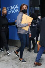 Robin Roberts Leaves ABC's Good Morning America in New York 03/24/2021 1