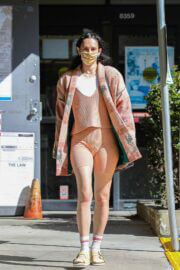 Rumer Willis is Seen Leaving Dry Cleaners in West Hollywood 03/22/2021 5