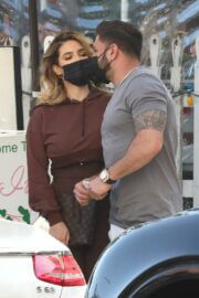 Saffire Matos Spotted at The Ivy in West Hollywood 03/20/2021 2