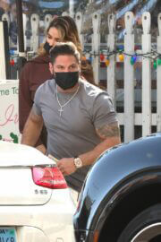Saffire Matos Spotted at The Ivy in West Hollywood 03/20/2021 4