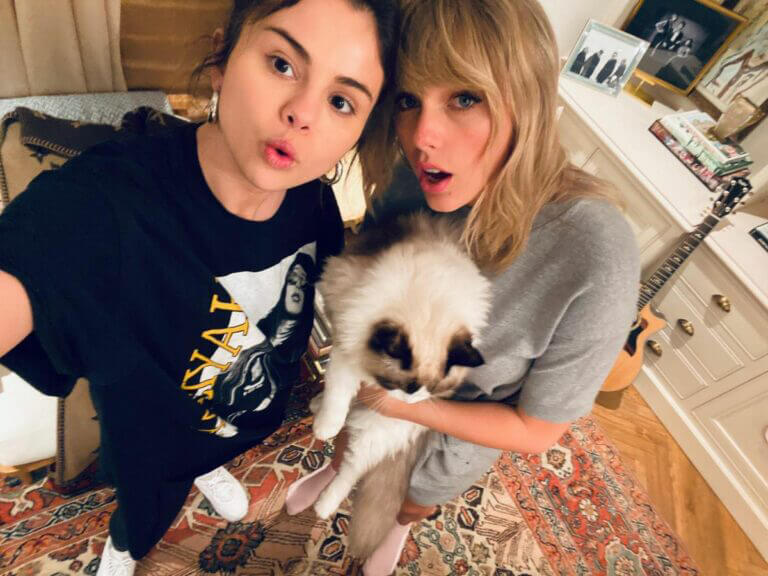 Selena Gomez and Taylor Swift Shared Instagram Photos 03/23/2021 1