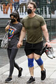 Shay Shariatzadeh and John Cena is Leaving a Gym in Vancouver 03/21/2021 5