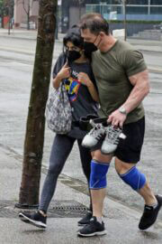 Shay Shariatzadeh and John Cena is Leaving a Gym in Vancouver 03/21/2021 6